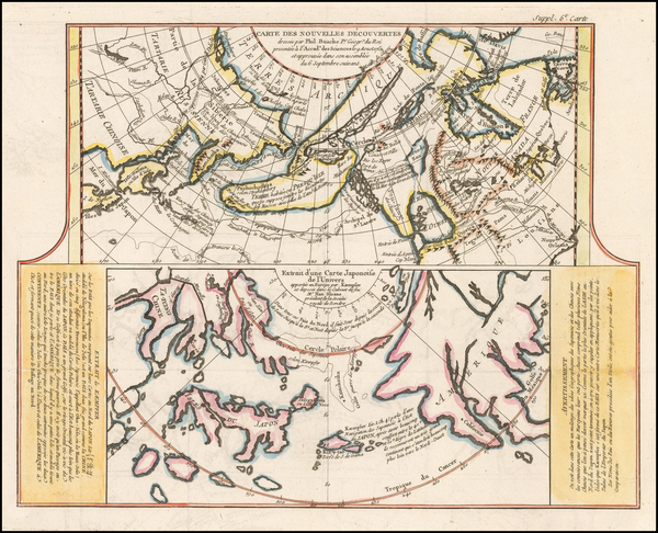 76-Polar Maps, Alaska, Japan, Pacific and Russia in Asia Map By Denis Diderot / Didier Robert de V