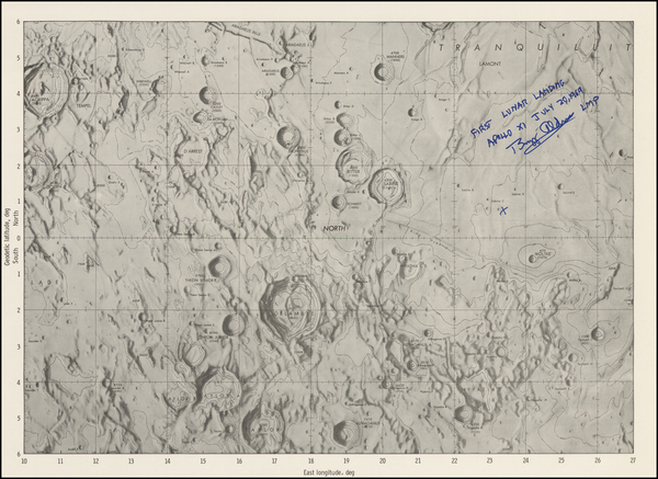 84-Celestial Maps and Space Exploration Map By Buzz Aldrin