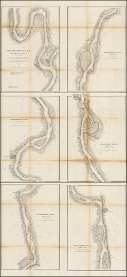 98-Midwest, Illinois and Plains Map By United States Coast Survey