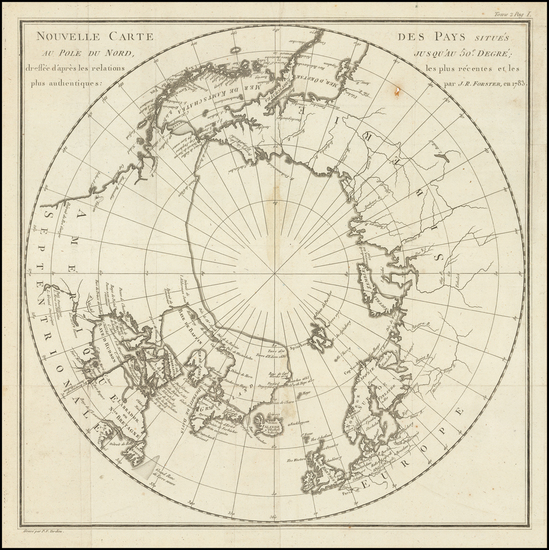 97-Polar Maps Map By Pierre Antoine Tardieu