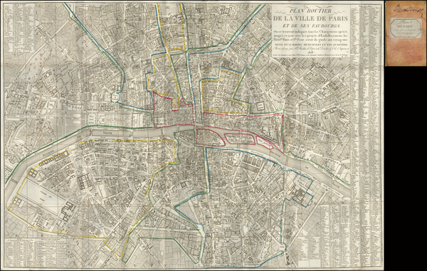 75-France and Paris Map By Jacques Esnauts