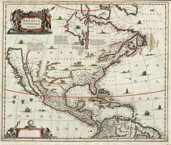 64-North America and California Map By Jan Jansson