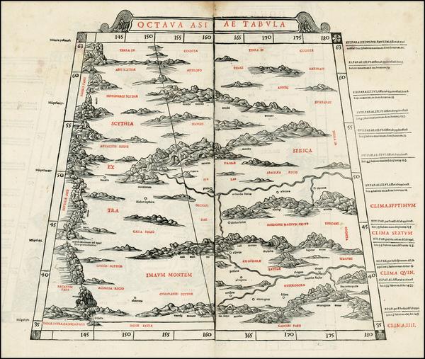 99-India and Central Asia & Caucasus Map By Bernardus Sylvanus