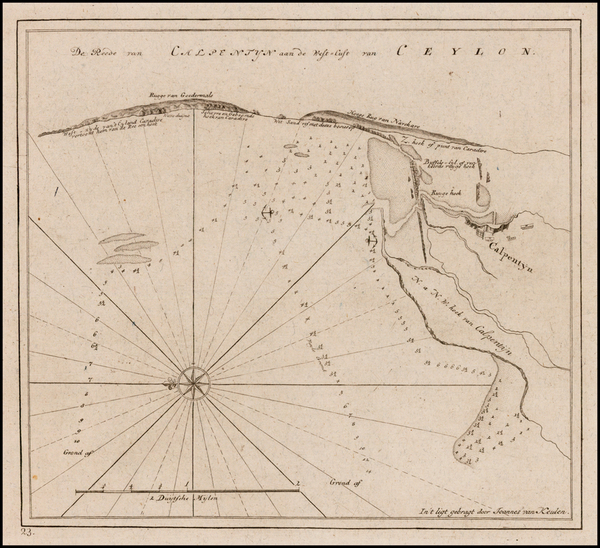 1-India and Other Islands Map By Johannes II Van Keulen