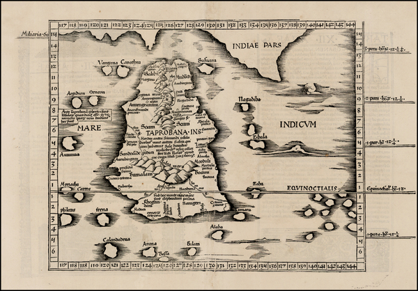 21-India and Other Islands Map By Lorenz Fries