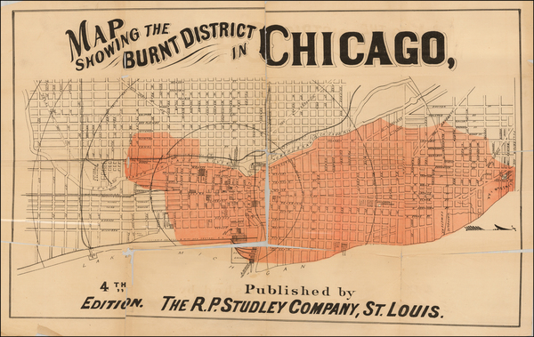 46-Midwest Map By R.P. Studley Company
