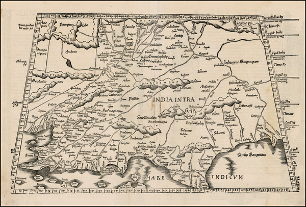 44-India and Central Asia & Caucasus Map By Lorenz Fries