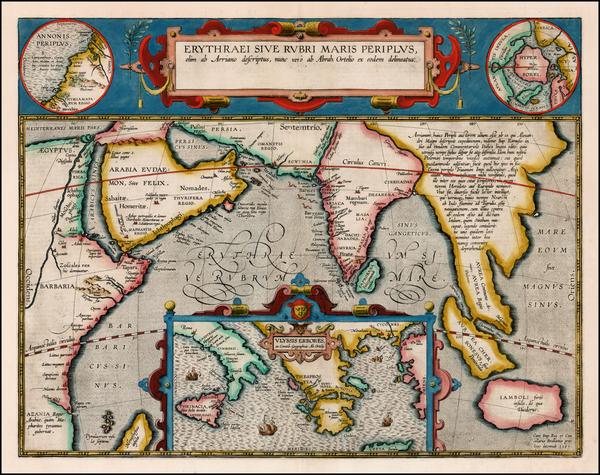 7-Polar Maps, Indian Ocean, Greece, Mediterranean, India, Southeast Asia, Other Islands, Central