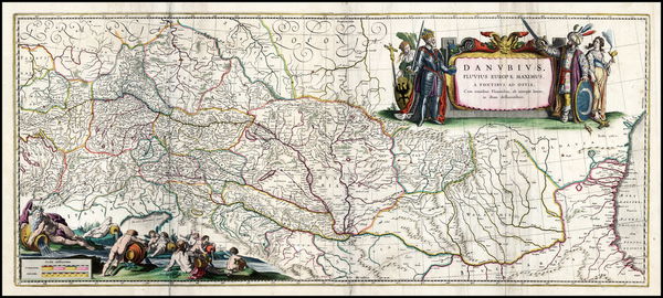 19-Germany, Austria, Hungary, Czech Republic & Slovakia and Balkans Map By Jan Jansson