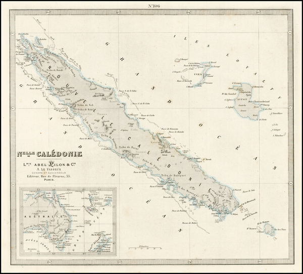 4-Australia & Oceania, Oceania and Other Pacific Islands Map By Abel Pilon