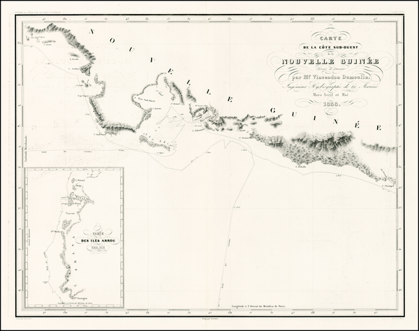 69-Southeast Asia and Other Pacific Islands Map By Clement Adrien Vincendon Dumoulin