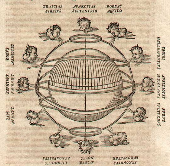 43-World, World, Curiosities and Celestial Maps Map By Giovanni Antonio Magini
