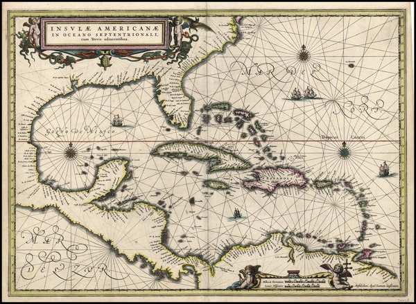 52-South, Southeast, Caribbean and Central America Map By Jan Jansson