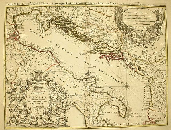 29-Europe, Balkans, Italy and Balearic Islands Map By Alexis-Hubert Jaillot