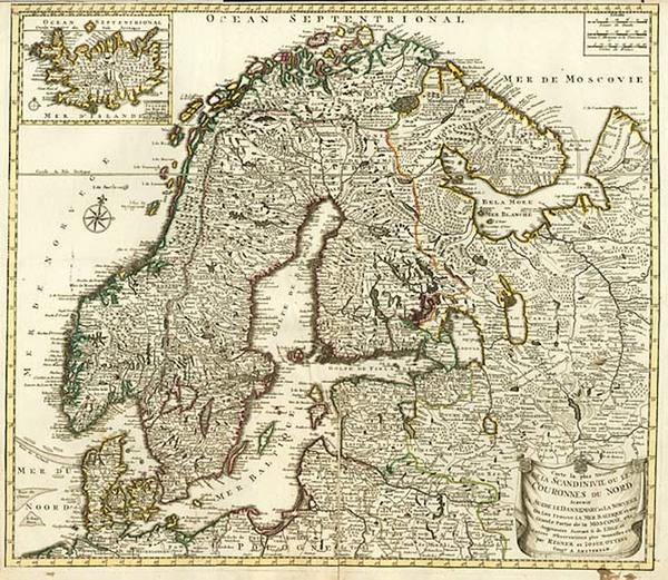34-Europe, Russia, Baltic Countries, Scandinavia and Balearic Islands Map By Reiner & Joshua O