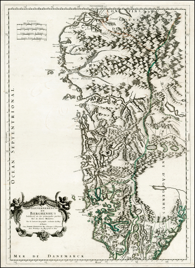 76-Scandinavia Map By Nicolas Sanson