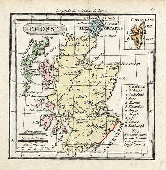 78-Europe and British Isles Map By Anonymous