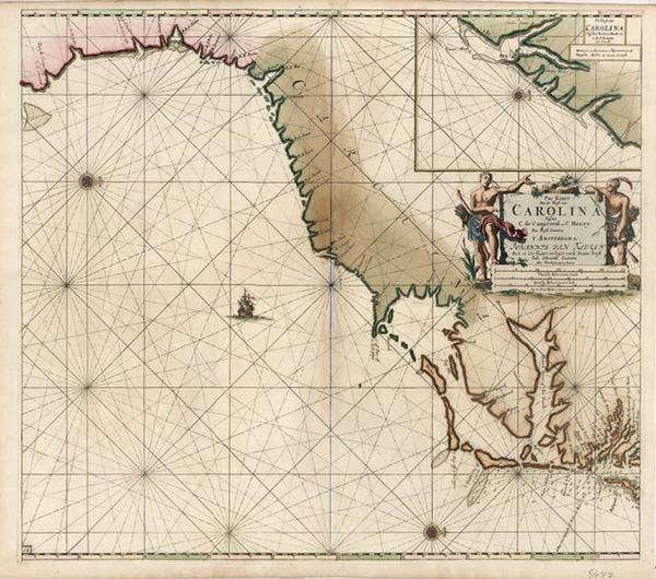 45-Southeast Map By Johannes Van Keulen