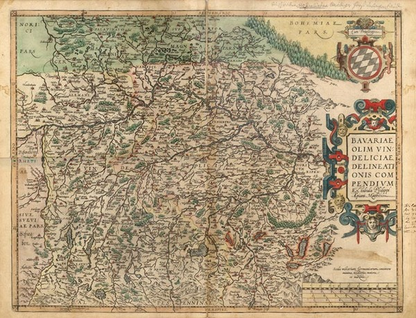 84-Europe and Germany Map By Abraham Ortelius