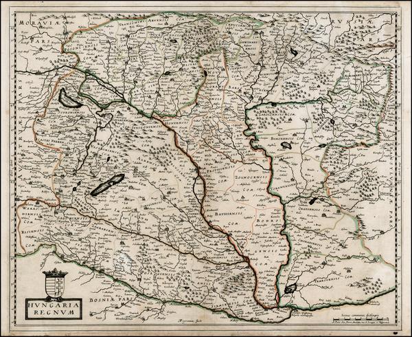 12-Austria and Hungary Map By Nicolas Sanson