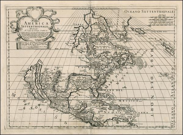 100-North America and California Map By Paolo Petrini
