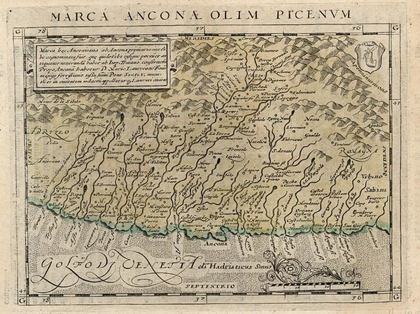 18-Europe and Italy Map By Giovanni Antonio Magini