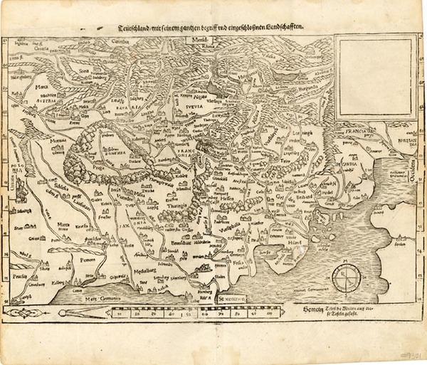 39-Europe, Netherlands, Germany, Hungary and Czech Republic & Slovakia Map By Sebastian Munste