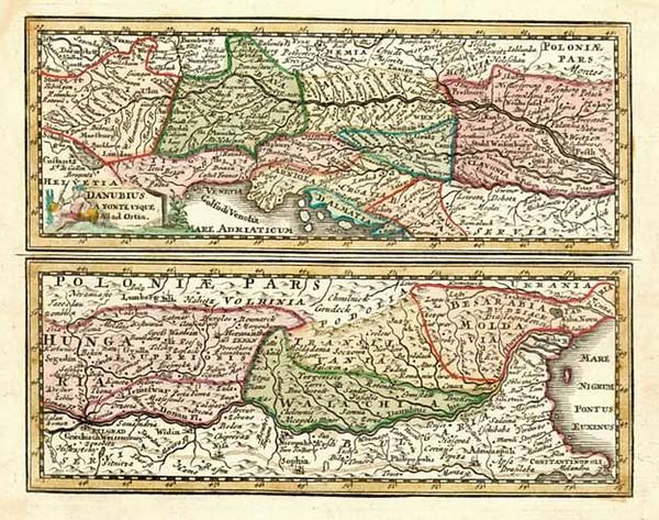 92-Europe, Switzerland, Germany, Austria and Baltic Countries Map By Adam Friedrich Zurner / Johan