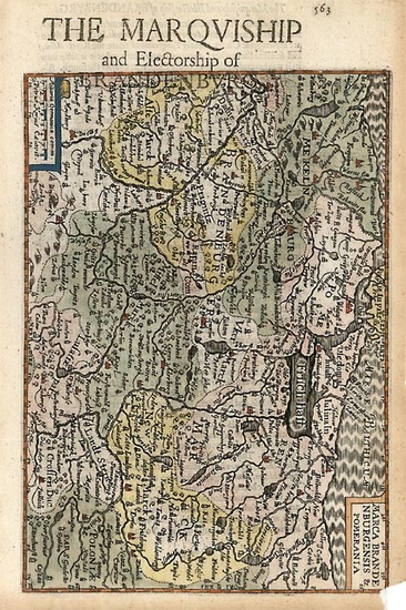 91-Europe, Germany and Baltic Countries Map By Henricus Hondius - Gerhard Mercator