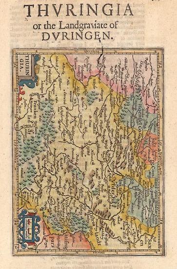 20-Europe and Germany Map By Henricus Hondius - Gerhard Mercator