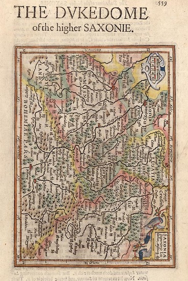 52-Europe and Germany Map By Henricus Hondius - Gerhard Mercator
