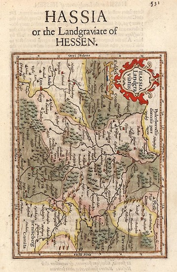 5-Europe and Germany Map By Henricus Hondius - Gerhard Mercator