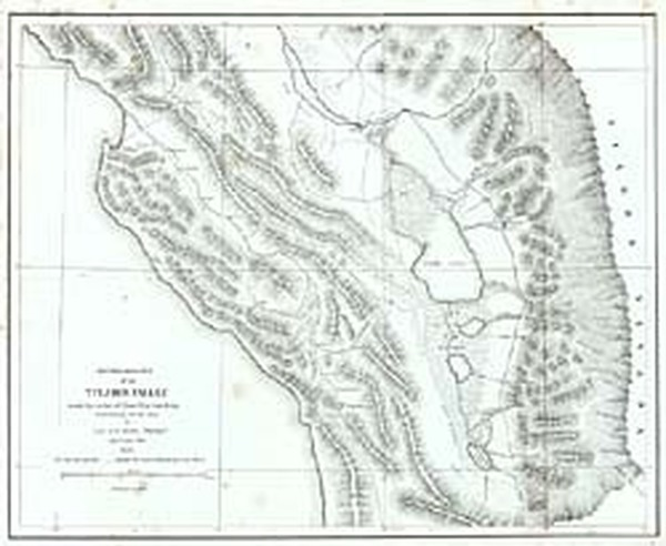 47-California Map By George Horatio Derby