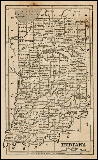31-Midwest Map By Ensign, Bridgeman & Fanning