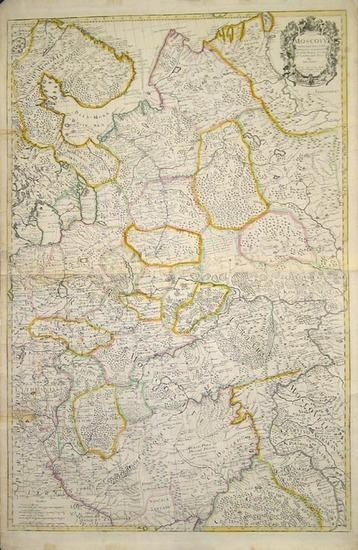69-Europe, Russia and Ukraine Map By John Senex