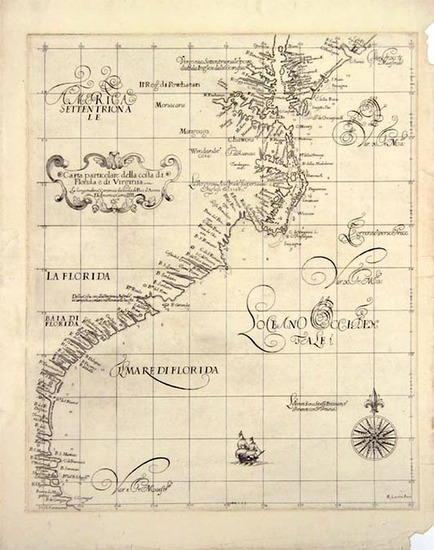 78-Southeast Map By Robert Dudley