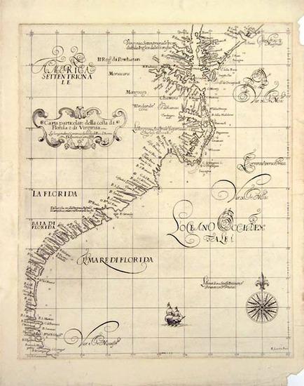 46-Southeast Map By Robert Dudley