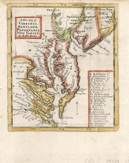 8-Mid-Atlantic and Southeast Map By Robert Morden