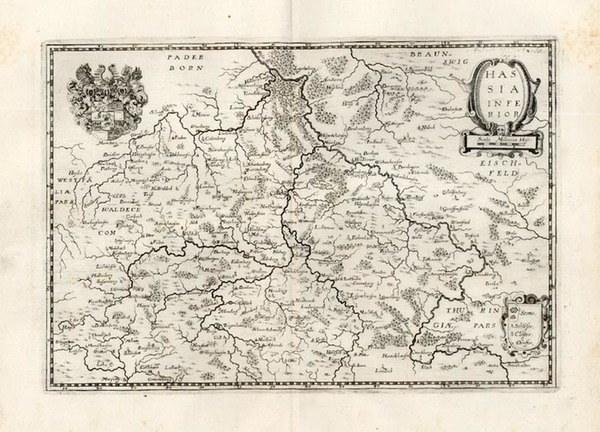 7-Europe and Germany Map By Matthaus Merian