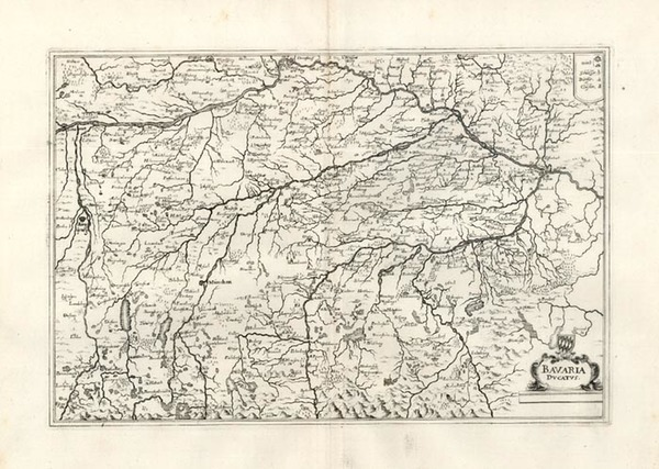 69-Europe and Germany Map By Matthaus Merian