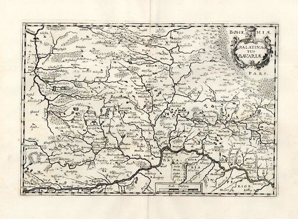 70-Europe and Germany Map By Matthaus Merian