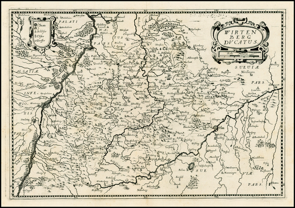 9-Europe and Germany Map By Matthaus Merian