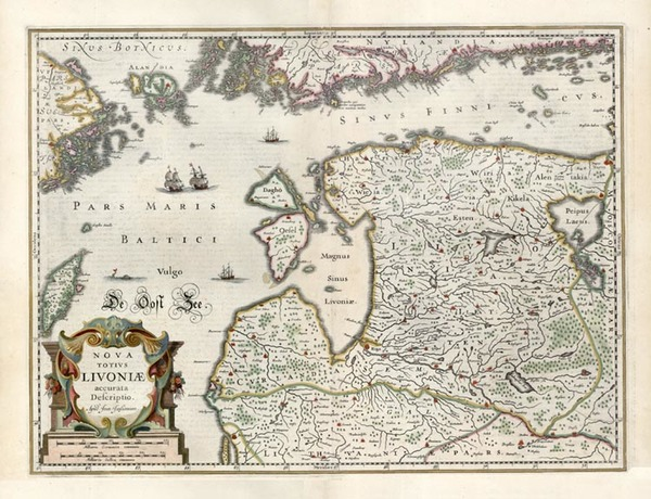 8-Europe, Baltic Countries and Scandinavia Map By Jan Jansson