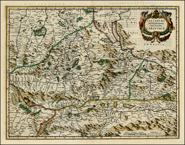 64-Austria Map By Jan Jansson