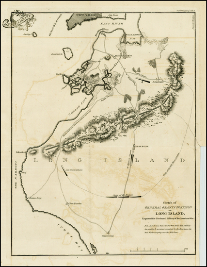 65-New York City and Mid-Atlantic Map By Charles Stedman / William Faden