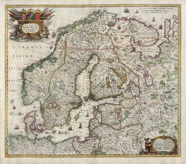 59-Europe and Scandinavia Map By Jan Jansson