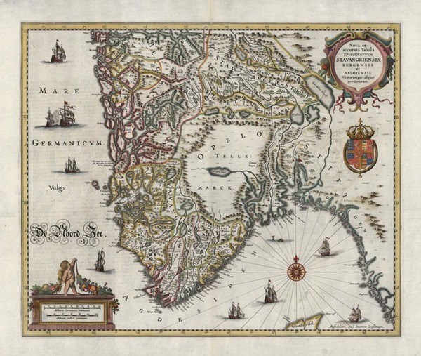 85-Europe and Scandinavia Map By Jan Jansson