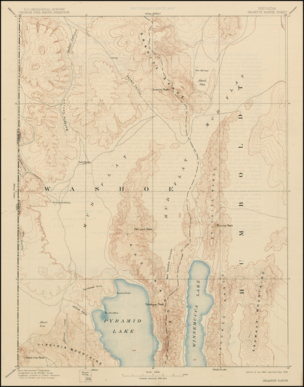 66-California Map By U.S. Geological Survey