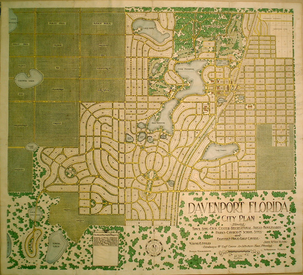 54-Southeast Map By