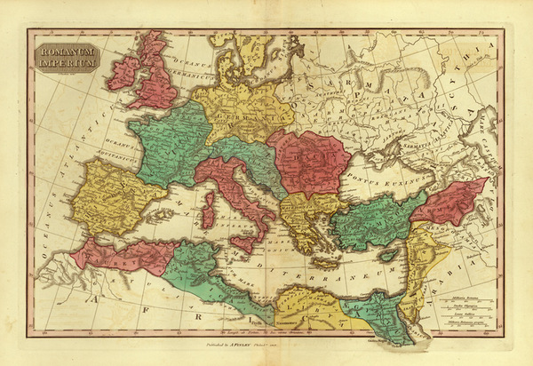 0-Europe, Europe, Italy and Mediterranean Map By Anthony Finley